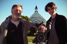 Ivars and Oscar filming in South Canterbury